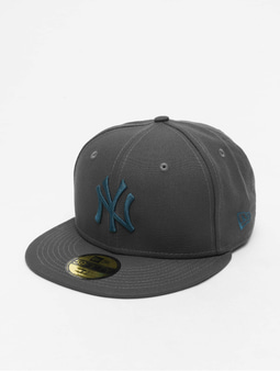 New Era MLB NY Yankees  Essential 59Fifty Fitted Cap Dark Grey