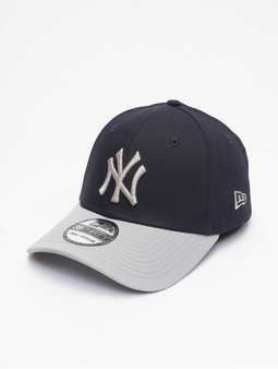 New Era MLB NY Yankees League Essential 39Thirty Flexfitted Cap Official Team Color