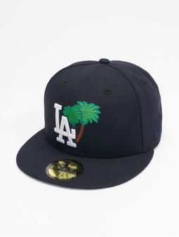 New Era Mlb Properties Los Angeles Dodgers 59fifty Snapback Cap Palm Tree Navy