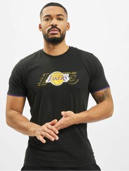 New Era NBA LA Lakers Graphic T-Shirt Black