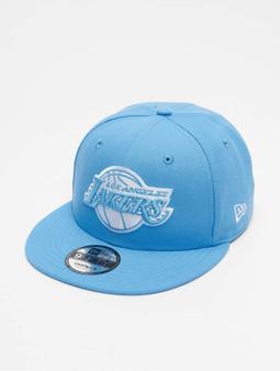 New Era NBA20 Los Angeles Lakers City Alt EM 9Fifty Flexfitted Cap Official Team Color/Pastel Blue