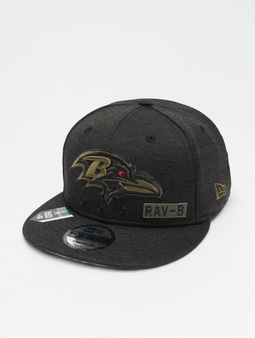 New Era NFL 20 STS EM 9Fifty Baltimore Ravens Flexfitted Cap Black