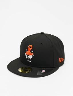 New Era NFL Cincinnati Bengals Team Tonal 59Fifty Fitted Cap Official Team Color