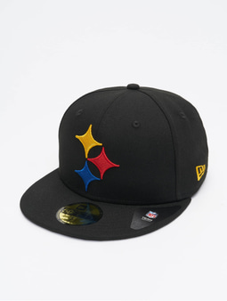 New Era NFL Pittsburgh Steelers Team Tonal 59Fifty Fitted Cap Official Team Color