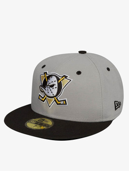 New Era Team Classic Anaheim Mighty Docks 59Fifty Fitted Cap Offical Team