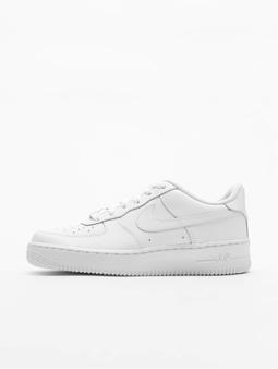 Nike Air Force 1 Kids Sneakers White/White/White (39 white)