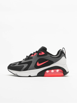 Nike Air Max 200 Sneakers Black/Anthracite/Bordeaux
