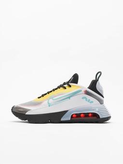 Nike Air Max 2090 Sneakers White/Bleached Aqua/Black/Speed Yellow
