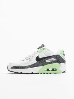 Nike Air Max 90 GS Sneakers White/Black/Vapor Green