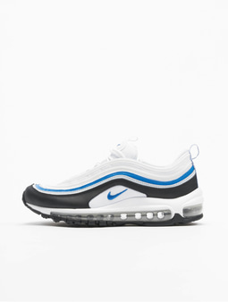 Nike Air Max 97 (GS) Running Sneakers Racer Blue/Metallic Silvern/Black