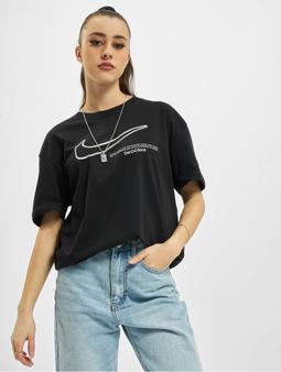 Nike Boy Swoosh T-Shirt Black