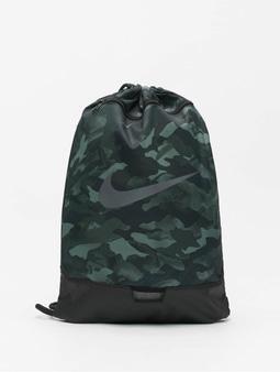 Nike Brasilia 9.0 AOP 2 Backpack Lt Smoke Grey/Black/Mtlc Cool Grey