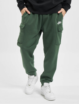 Nike Club Cargo Sweat Pants Black/Black/White