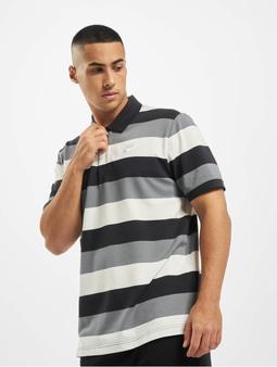 Nike Matchup Stripe Polo Shirt Black/White