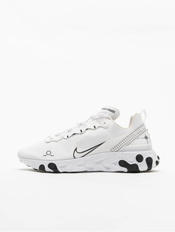 Nike React Element 55 Sneakers Black/White
