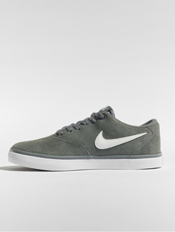 Nike SB Check Solarsoft Skateboarding Sneakers Cool Grey/White