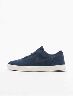 Nike SB Check Suede (GS) Sneakers Black/Black/Anthracite