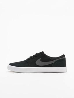Nike SB Portmore II Solar Sneakers Sequoia/Pale Ivory/Sequoia/Kumquat
