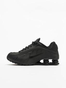 Nike Shox R4 (GS) Snekers Black/Black/Black/White