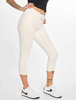Noisy May nmLucy NW Skinny Cropped CLR X Skinny Jeans Mellow Rose