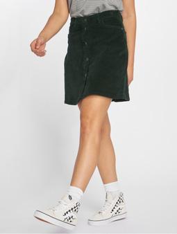 Noisy May nmSunny Corduroy Skater Skirt Jet Set