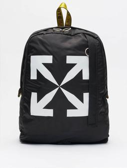 Off White Backpack Black White