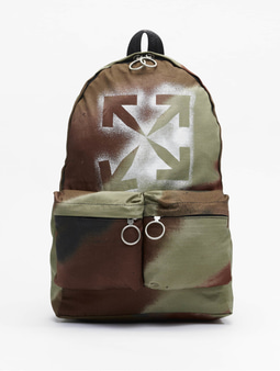 Off White Backpack Camo Brown