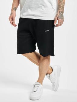 Off White Shorts Black White