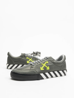 Off White Sneakers Grey Green