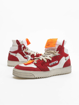 Off White Sneakers White Red