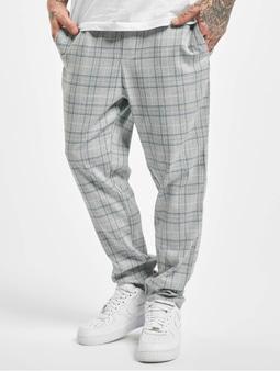 Only & Sons onsLinus Cropped Check Pants Medium Grey Melange