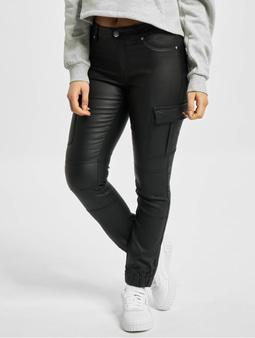 Only onlMissouri Reg Ank Coated Cargo Pants Black