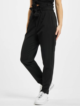 Only onlPheobe Papberbag Pants Black