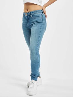 Pieces pcDelly Skinny Jeans Light Blue Denim
