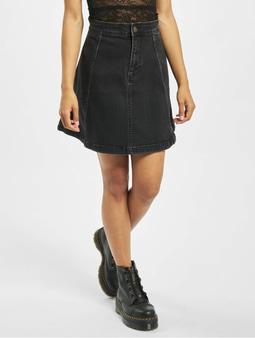 Pieces PcIris High Waist Skater Skirt Black