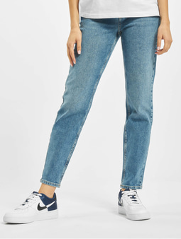 Pieces pcLeah High Waist Ankle Noos Mom Jeans Medium Blue Denim