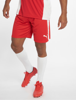 Puma LIGA Shorts Red/White