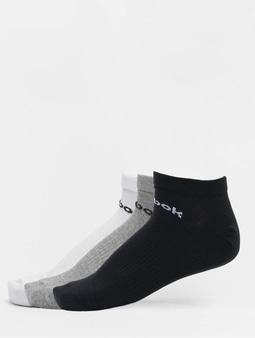 Reebok Act Core Low Cut Socks Medium Grey Heather/White/Black