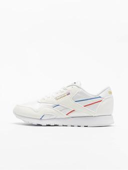 Reebok Classic Nylon Sneakers White/Radiant Red/Blue Blast