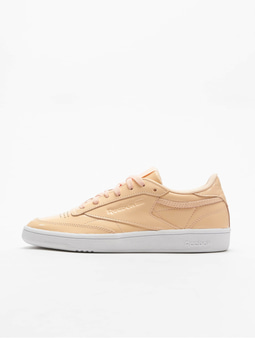 Reebok Club C 85 Patent Sneakers Desert Dust/White