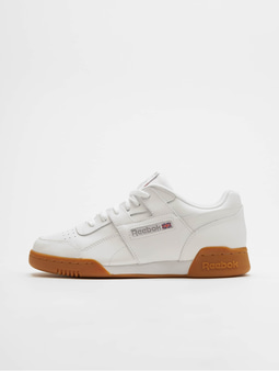 Reebok Workout Plus Sneakers White/Carbon/Red/Royal