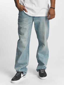 Rocawear Baggy Fit Jeans 90TH Mid Blue Wash