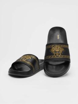 Schlappos Sace Fun Slides Black/Gold