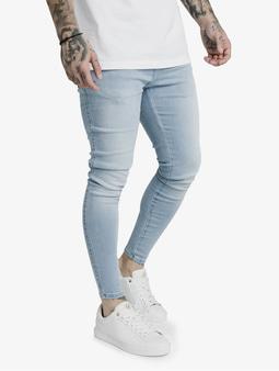 Sik Silk Skinny Jeans Light Blue