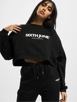 Sixth June Basic Sweatshirt Black