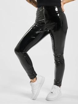 Sixth June Vynil Leggings Black