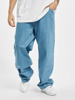 Southpole Straight Fit Jeans Retro Mid Blue