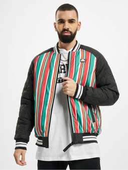 Southpole Stripe College Jacket Multicolor