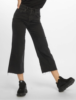 The Ragged Priest Grip Cropped Skater Jeans Charcoal