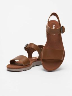 Timberland Lottie Lou 1Band Sandals Rust Full/Grain
